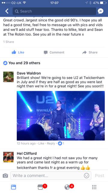 U2 2 Tribute Band | U2-2 REVIEWS | U2-2 Tribute Band | The